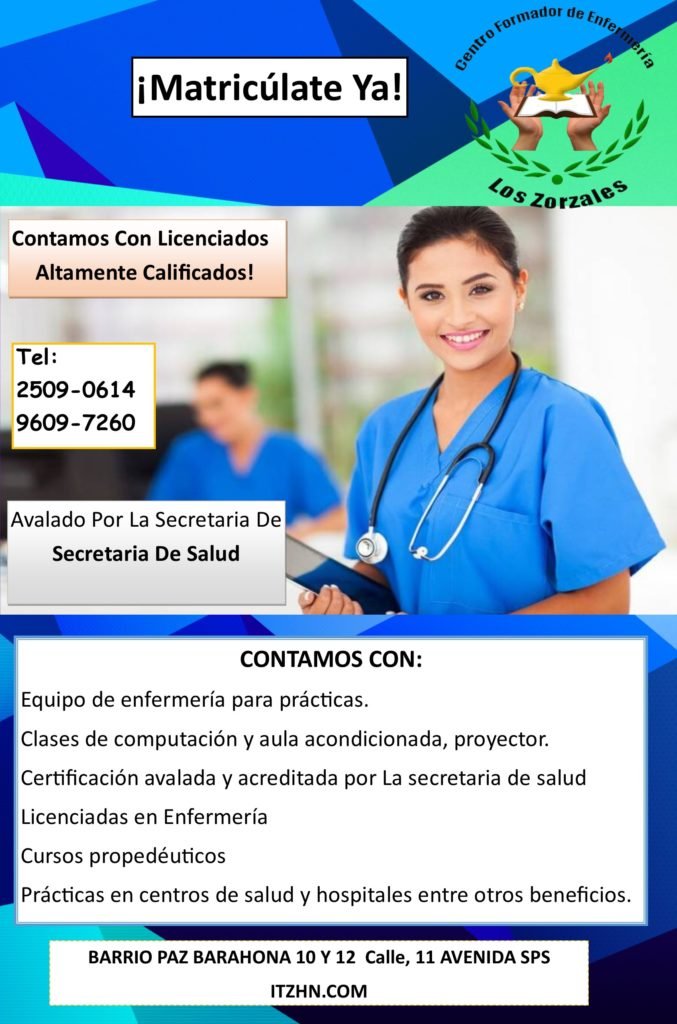 enfermeria azul